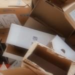 L'emballage en carton : pratique et peu coûteux.
