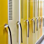 Entre les  armoires industrielles, les casiers, ou les vestiaires, vous trouverez forcément le meuble qui vous convient.